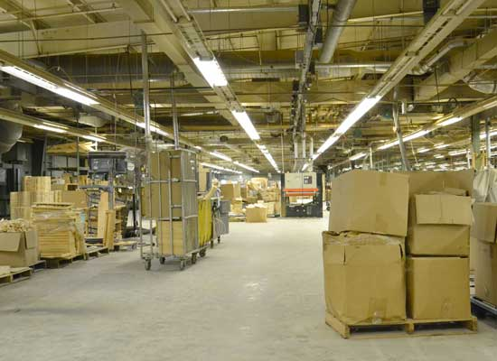 Manufacturing Warehouse Space
